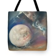 Anna Maria Moonset Tote Bag