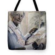 Anna Mary Robertson Tote Bag
