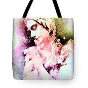 Anna Pavlova Whimsical Ballerina Tote Bag