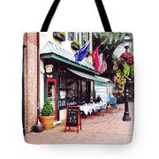 Annapolis Md - Restaurant On State Circle Tote Bag