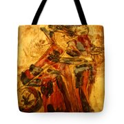 Anne And Friend - Tile Tote Bag