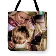 Anne Of Cleves With Prince Edward Tote Bag
