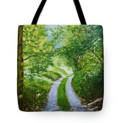 Annecy Forest Afternoon Tote Bag