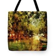 Annecy France Pont Des Amours Tote Bag