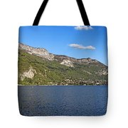 Annecy Lake Panorama Tote Bag