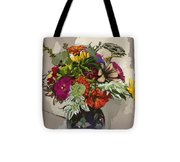 Anne's Flowers Tote Bag