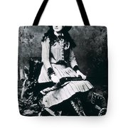 Annie Oakley  Star Of Buffalo Bill's Wild West Show Tote Bag
