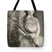 Annie Oakley With A Rifle, 1899 Tote Bag