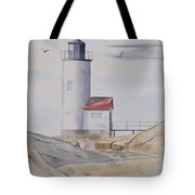 Annisquam Lighthouse 2 Tote Bag