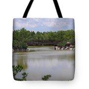 Another Bridge At The Zen Garden Tote Bag