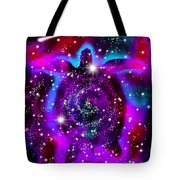 Another Cosmic Sea Turtle Tote Bag