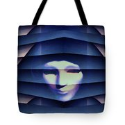 Another Face In The Crowd Tote Bag