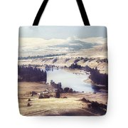 Another Flathead River Image Tote Bag