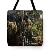 Another Garden Another Midnight Tote Bag