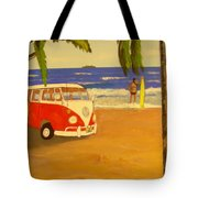 Another Groovy Beach Weekend Tote Bag