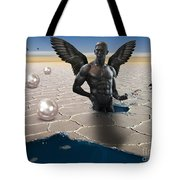 Another Side Of Dream Tote Bag by Mark Ashkenazi