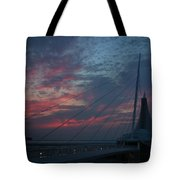 Another Sunrise At The Mam Tote Bag