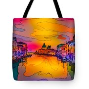 Another Surreal Venice Sunset Tote Bag