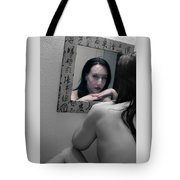 Another Version Of Me - Self Portrait Tote Bag