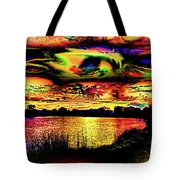 Another Wicked Sunset Tote Bag
