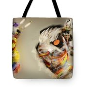 Pow Wow Another World Another Time Tote Bag