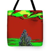 Another World On Earth Tote Bag