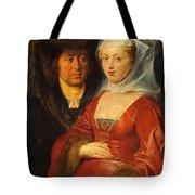 Ansegisus And Saint Bega Tote Bag