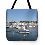 Anstruther Away Fishing Tote Bag