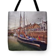 Anstruther Harbor Tote Bag