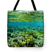 Ant Atoll Reef Tote Bag