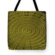 Ant Nest Abstract Fabric Design # 2 Tote Bag