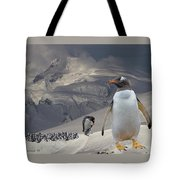 Antarctic Magesty Tote Bag by Larry Linton
