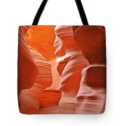 Antelope Canyon - Nature's Art Gallery Tote Bag by Christine Till