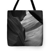 Antelope Canyon Erosions Bw Tote Bag