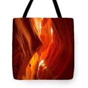 Antelope Canyon Wavy Abstract Tote Bag