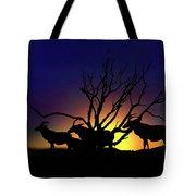 Antelope Crossing Tote Bag