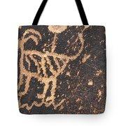 Antelope Petroglyph Tote Bag