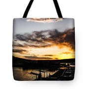 Antelope Sunset  Tote Bag