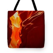 Antelope Textures And Flames Tote Bag