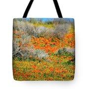 Antelope Valley Poppies Tote Bag