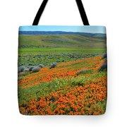 Antelope Valley Poppy Reserve Tote Bag