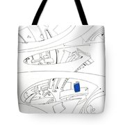 Antennas. Wind Spout Tote Bag