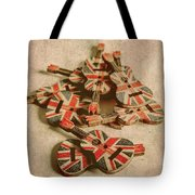 Anthem Of Old England Tote Bag