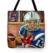 Anthony Calvillo Tote Bag