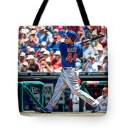 Anthony Rizzo Tote Bag