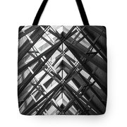 Anthony Skylights Grayscale Tote Bag