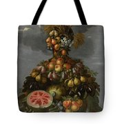 Anthropomorphic Allegory Of Summer Tote Bag