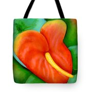 Anthurium Flowers #228 Tote Bag