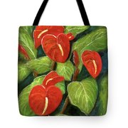 Anthurium Flowers #231 Tote Bag