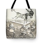 Anti-greenback Cartoon Tote Bag